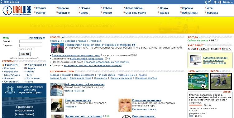 Погода в Екатеринбурге на 7-1 дней Екатеринбург